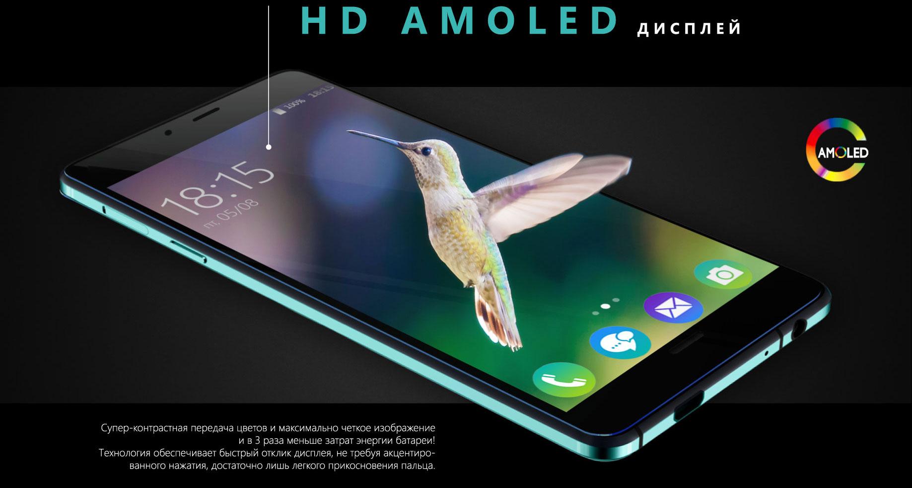 Cупер-контрастная передача цветов и максимально четкое изображение<br> и в 3 раза меньше затрат энергии батареи!<br> Технология обеспечивает быстрый отклик дисплея, не требуя акцентиро-<br> ванного нажатия, достаточно лишь легкого прикосновения пальца.