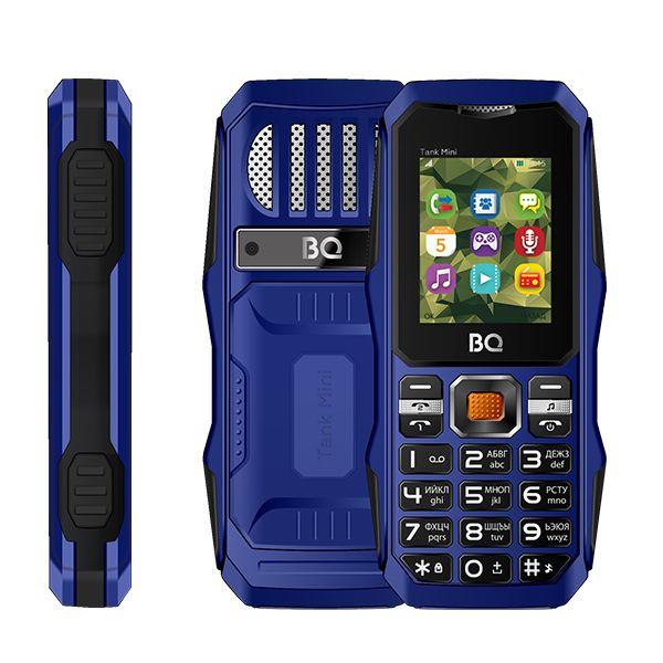 Мобильный телефон BQ BQM-1842 Tank mini (Dark/Blue)