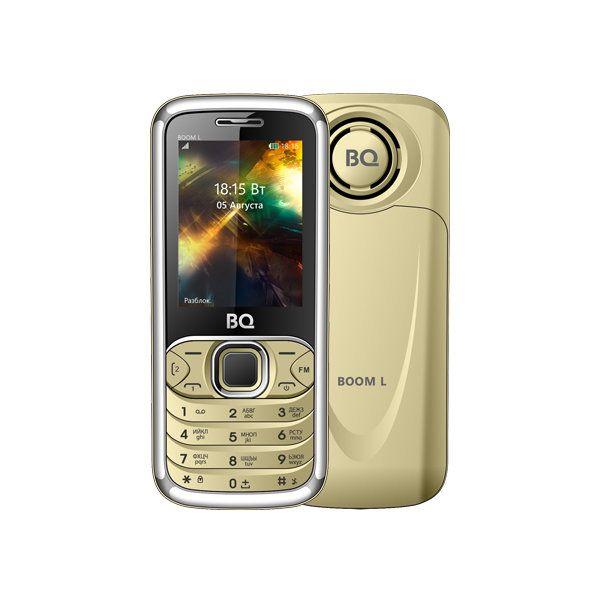 Мобильный телефон BQ BQM-2427 BOOM L (gold)